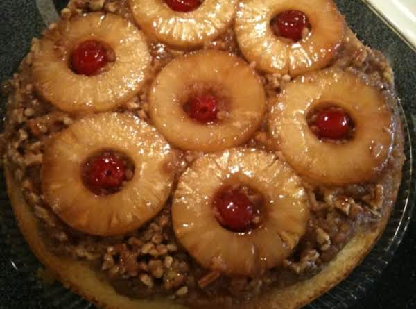 Pineapple Upside Down Cake (in a cast-iron skillet)_image