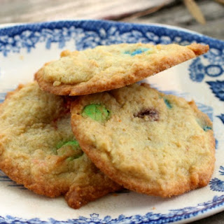 Low Carb M &M's Cookies.