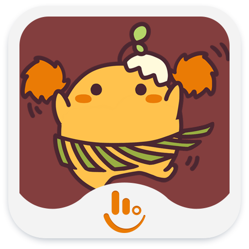 Free TouchPal Cute Egg Sticker