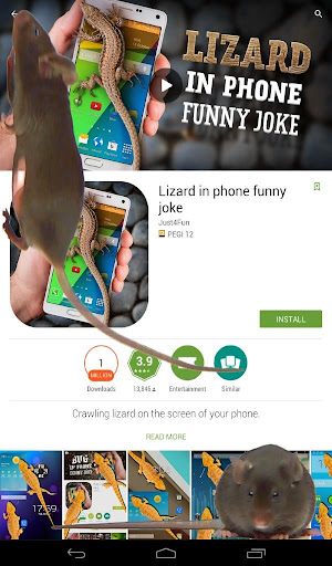 玩娛樂App|老鼠在屏幕上嚇人的笑話免費|APP試玩