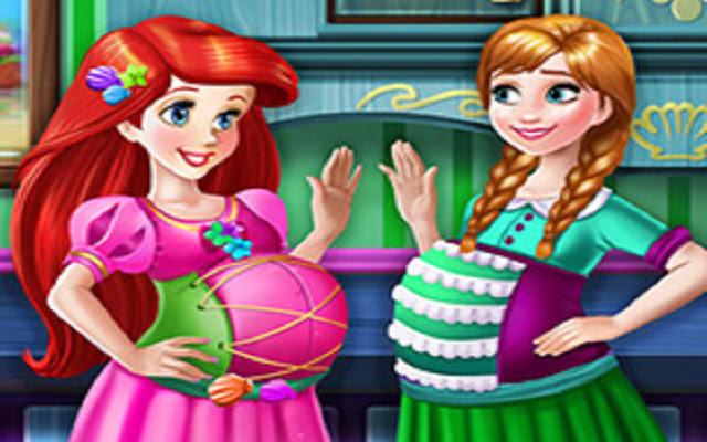 Ariel and Anna Pregnant BFFs