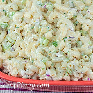 Easy Macaroni Salad.