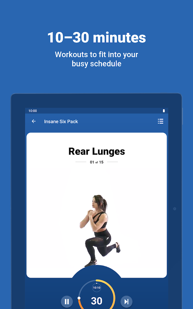 Fitify: Training, Workout Plan & Results App Screenshot 12