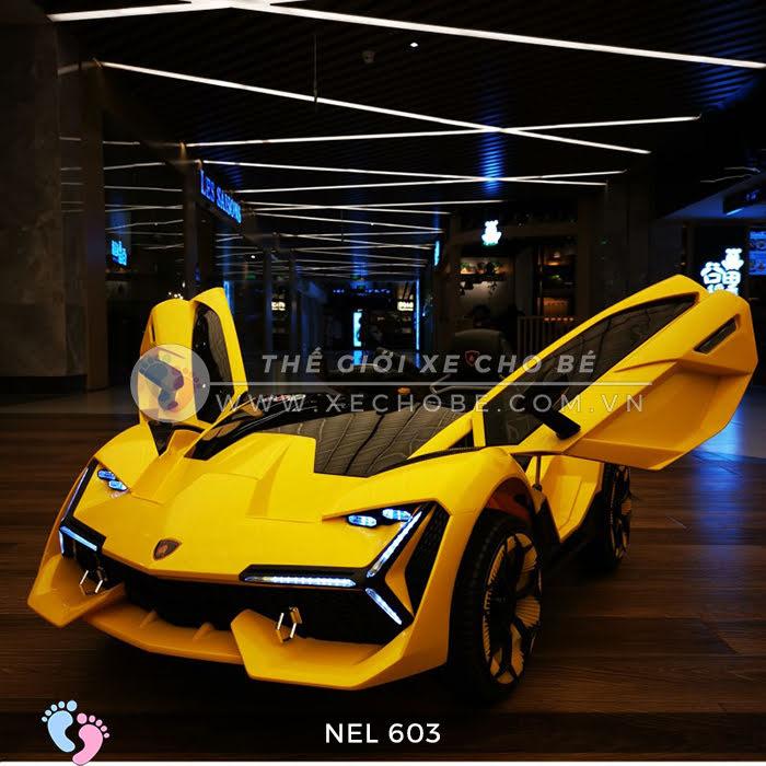 xe ô tô điện trẻ em Lamborghini NEL-603 16