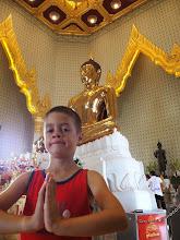 Photo: Temple du bouddha en or massif - Bangkok