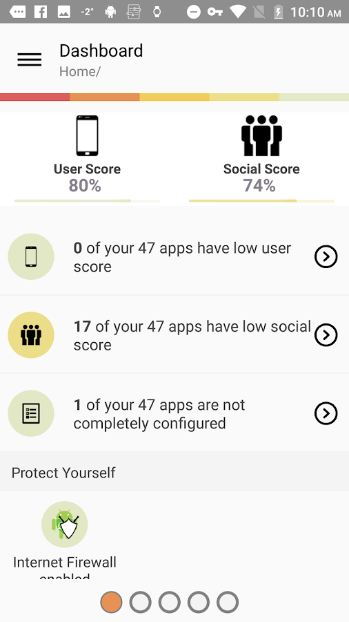 Protektoid, secure your device- screenshot