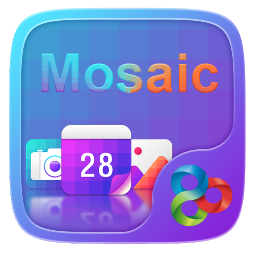 Mosaic GO Launcher Theme