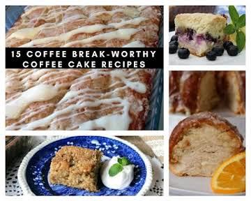 15 Coffee Break-worthy Coffee Cake Recipes