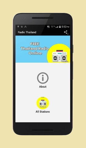 android Radio Thailand Screenshot 0