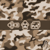 Camouflage Brown Xperien Theme