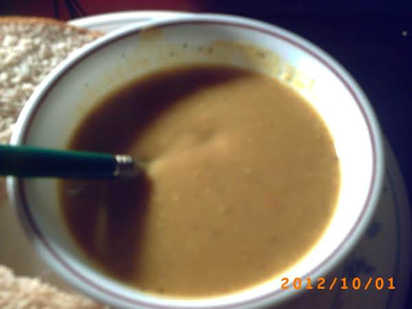 Roasted Acorn Soup