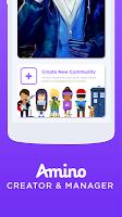screenshot of Amino Creator and Manager: ACM