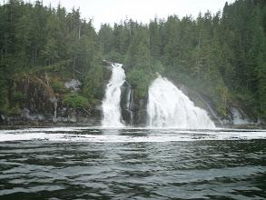 Photo: Waterfall on Fraser Reach.