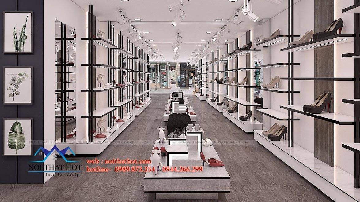 thiết kế shop giày dép thời trang ha huyen 8
