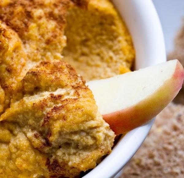 Cashew And Pumpkin Spice Dip Recipe