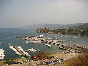 Photo: Cefalu  Yeni limanı.    Cefalu new harbor.