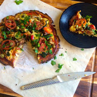 Vegan Just-veggies Pizza Base (egg, Dairy, Gluten, Nut & Grain Free).