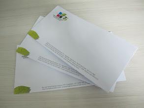 Photo: Envelopes para castas personalizados.