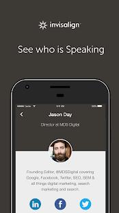 Invisalign Conference App - náhled