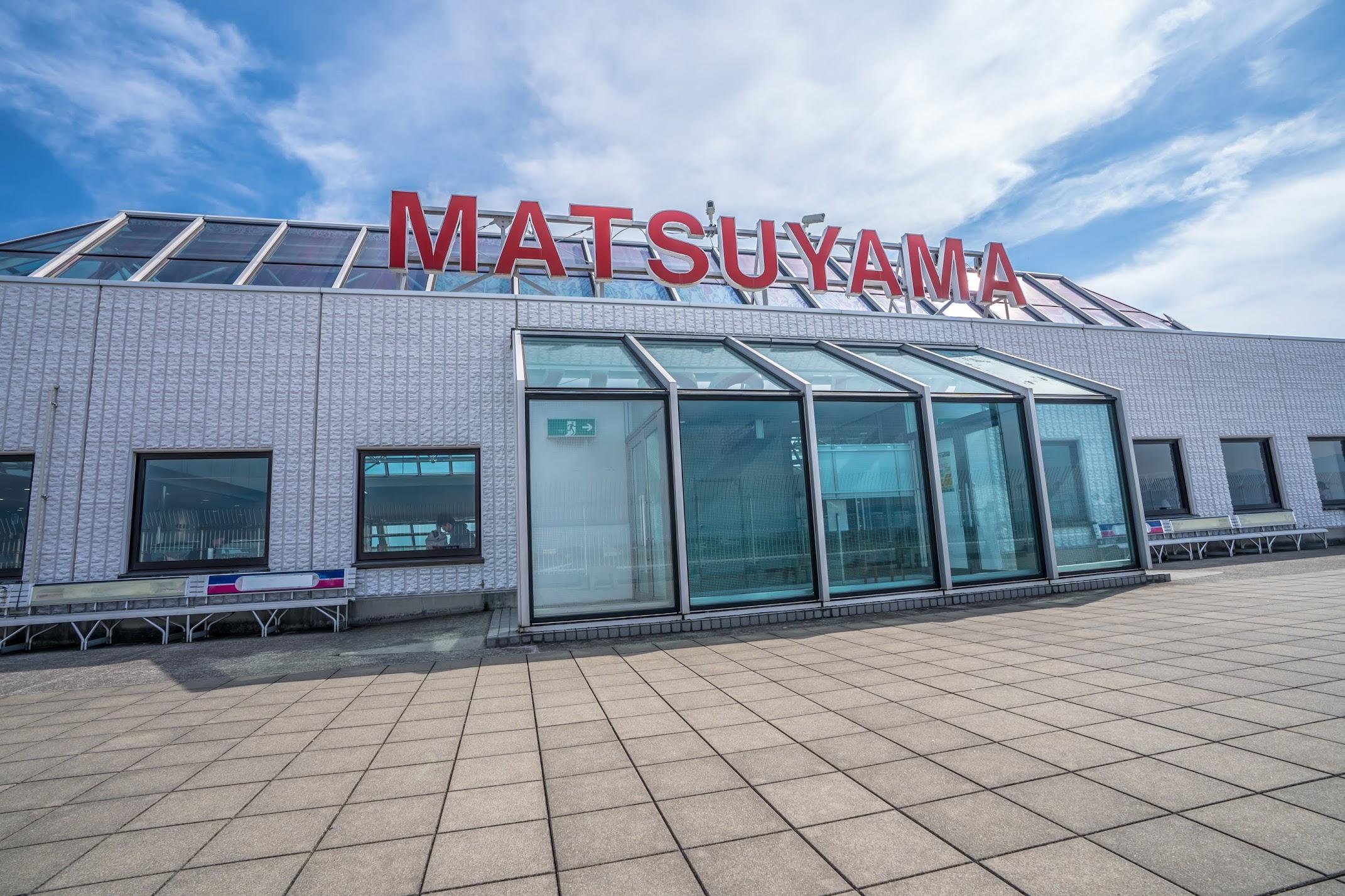 Matsuyama Airport Observation deck1