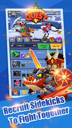 Code Triche Merge Quest APK MOD screenshots 2