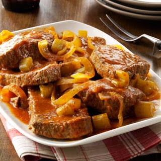 Slow-Cooked Swiss Steak.