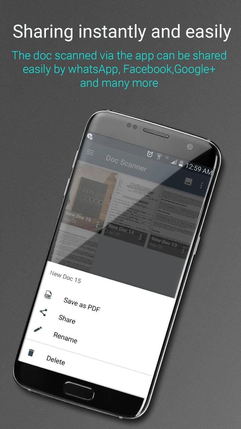 Document Scanner - PDF Creator Screenshot 3