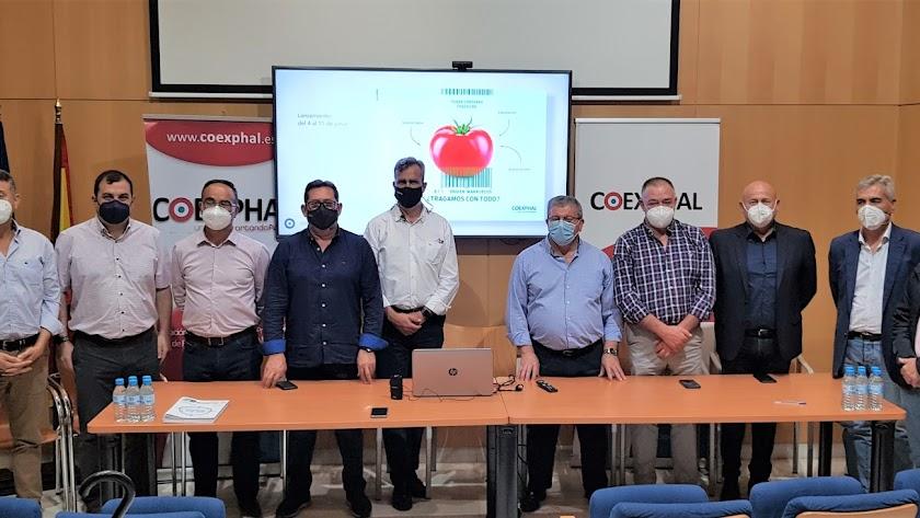 La junta directiva de Coexphal anunció ayer la campaña contra el producto marroquí