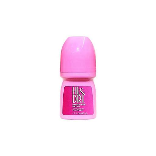 desodorante rolon hi&dri powder fresh rosado