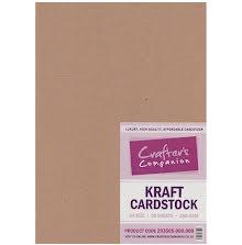 Crafters Companion A4 50/Pkg - Brown Kraft