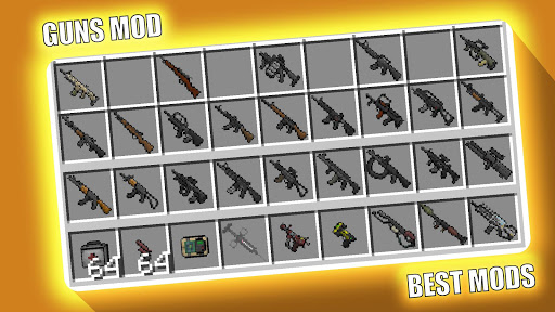 Minecraft players (like you!) are using their amazing creative brains to concoct incredible new ways to play on mobile, xbox one,. Updated Guns Mod Mcpe Pc Android App Mod Download 2021