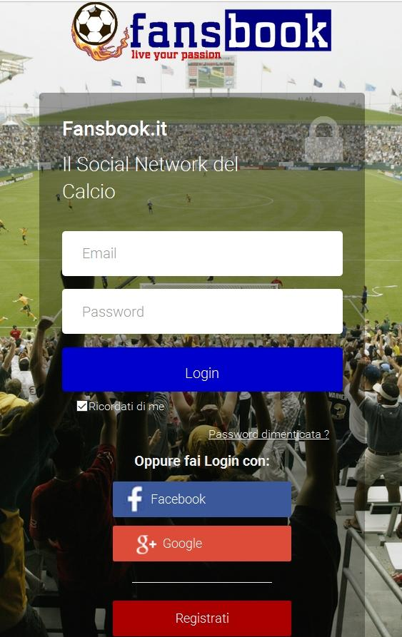 Fansbook- screenshot