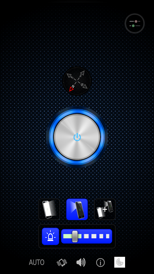 Flashlight for HTC- screenshot