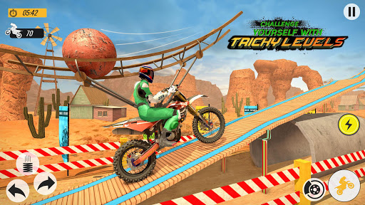 Télécharger Moto Bike Racing Stunt Master- New Bike Games 2020 apk mod screenshots 4