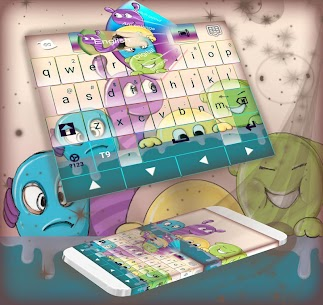 Funny Keyboard Theme 1