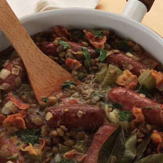 Italian Sausage and Lentil Stew