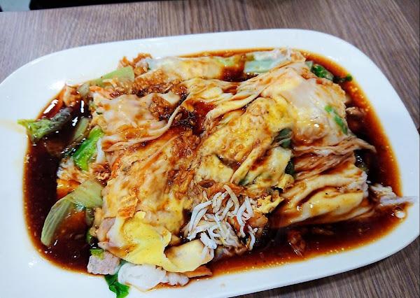 稻香石磨腸粉Dao Hsiang- 抽屜式純米石磨慢磨的腸粉 用蒸的泡麵 @台北行天宮