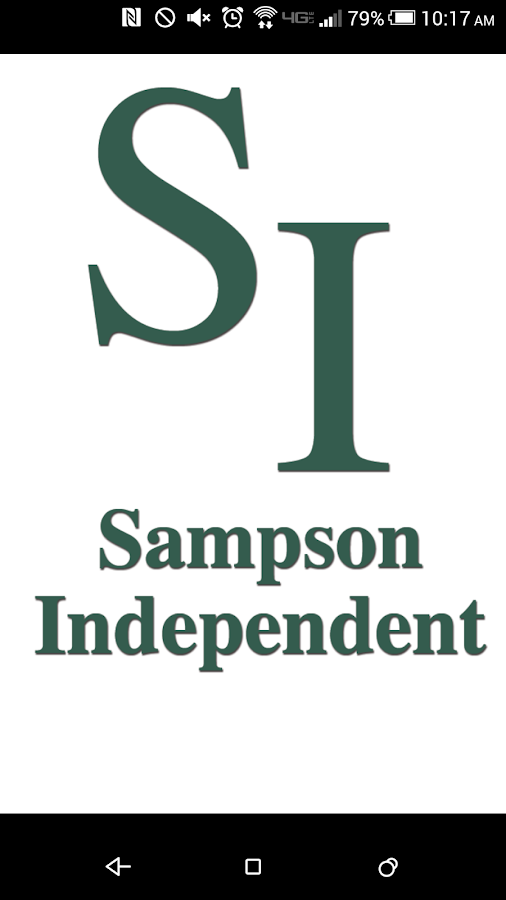 The Sampson Independent- screenshot
