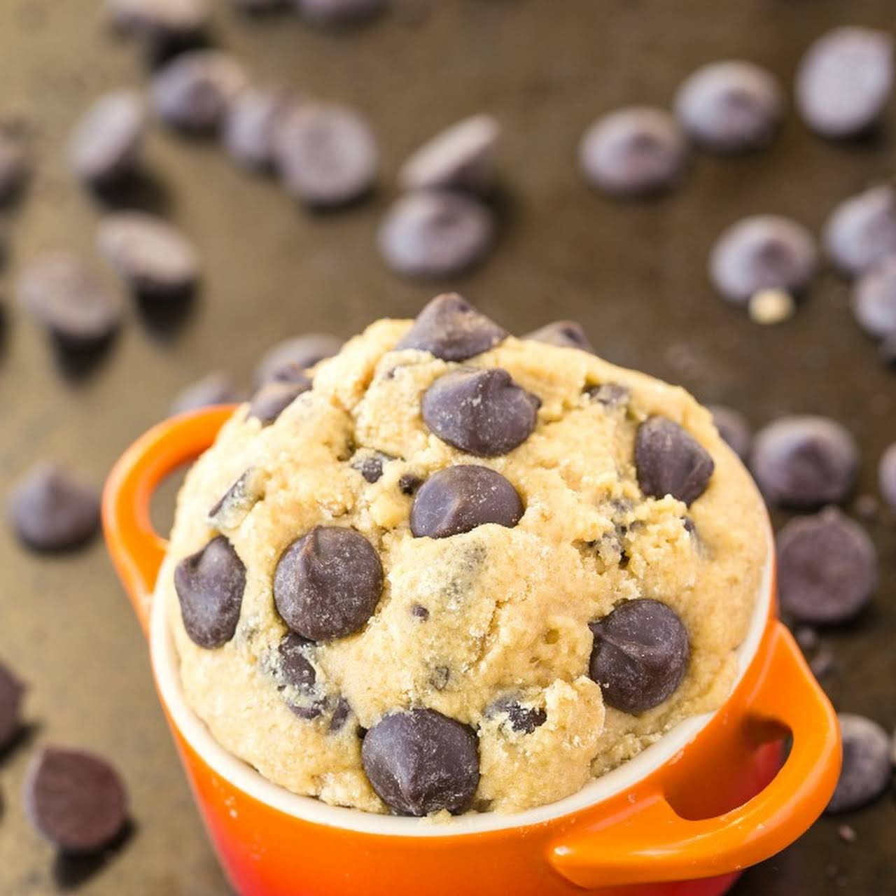 Healthy Classic Cookie Dough For One