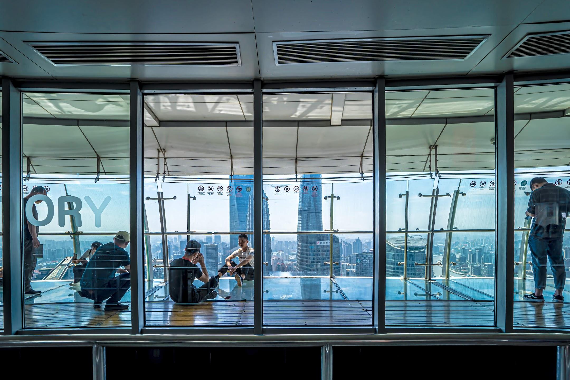 Shanghai Oriental Pearl Tower observation deck6