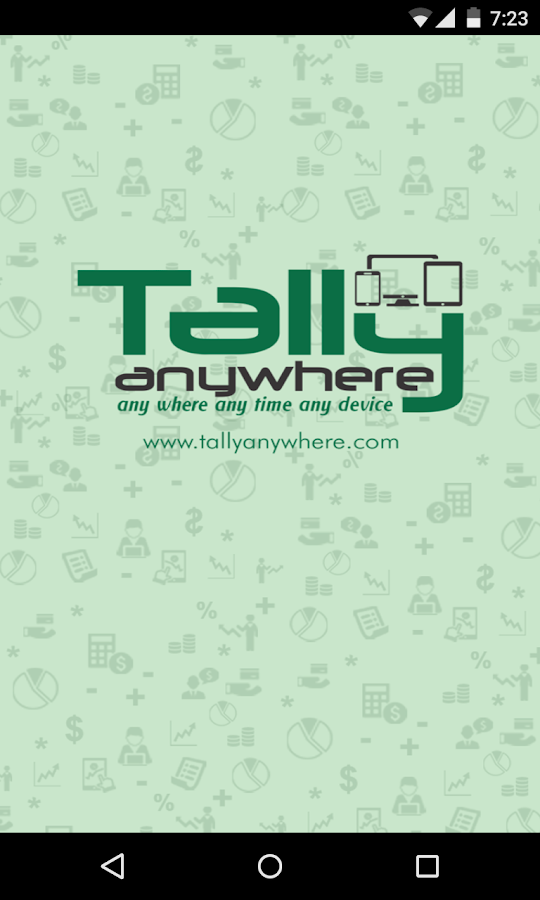 Tally AnyWhere- screenshot