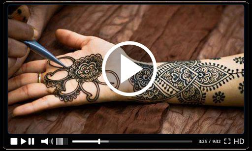 Simple Mehndi Designs Videos Tutorial 2018 1.4 screenshots 3