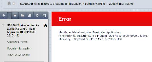 Photo: HAR6042 12~13 error message 2 - after fixing navigation menu