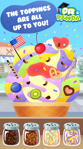 Dr. Panda Ice Cream Truck Free  screenshots 7