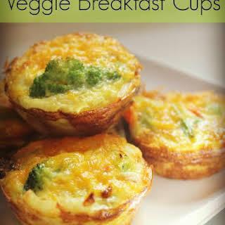 Veggie Breakfast Cups.