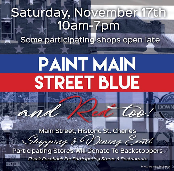 Paint Main Street Blue