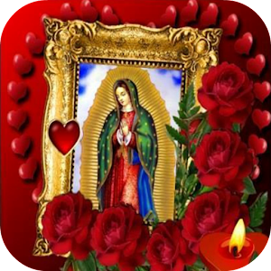 Virgen De Guadalupe Rose