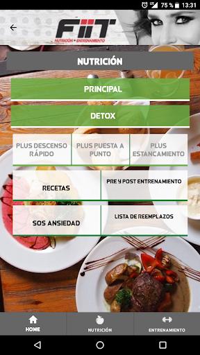 FIIT | Nutrición + Entrenamiento for PC