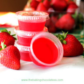 Strawberry Lime Margarita Jell-O Shots Recipe