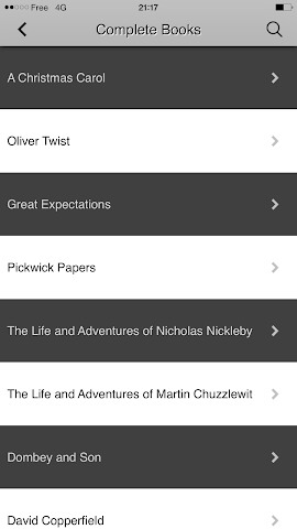 android Charles Dickens Screenshot 4
